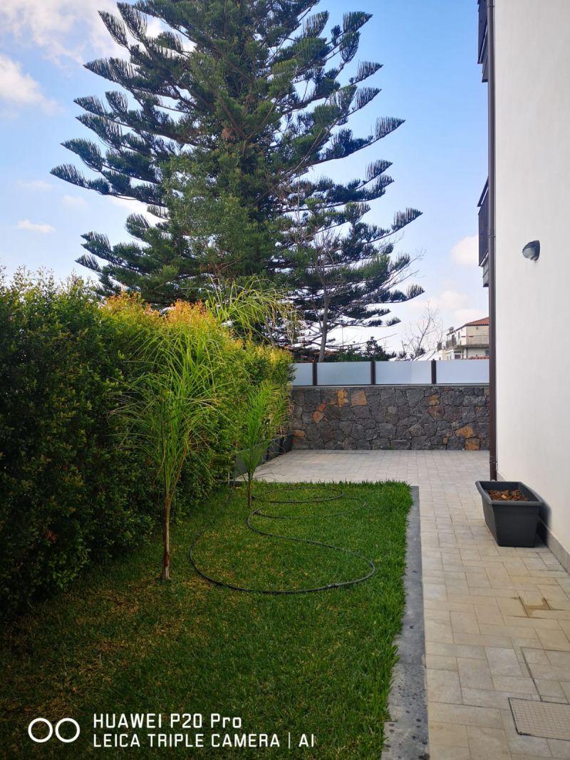 Misterbianco-Piano Tavola V.3 con terrazzo /giardino nuova costruzione